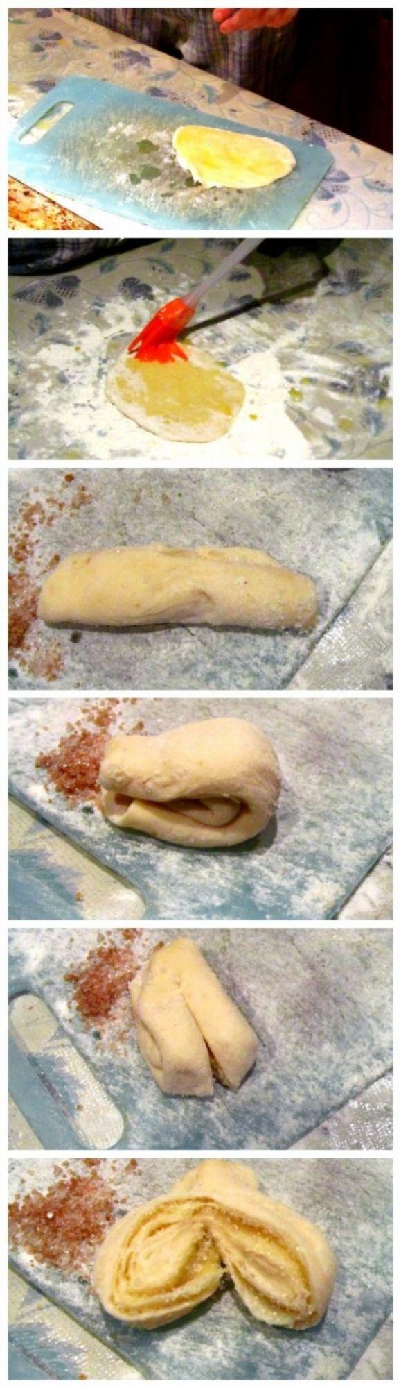 Рецепт дрожжевых булочек пошагово