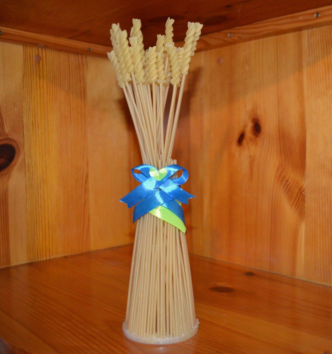 Как сделать сноп из пшеницы